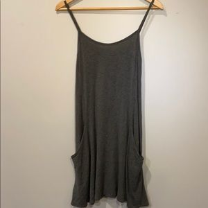 A grey Rebel Sugar dress.